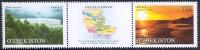 1141-1142. Серия почтовых марок «Регионы. Джизакская область»